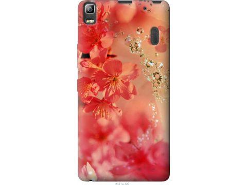 Чехол на Lenovo K3 Note K50-T5 Розовые цветы (2461t-141-22700)