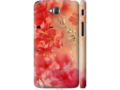 Чехол на LG G Pro Lite Dual D686 Розовые цветы (2461m-440-22700)