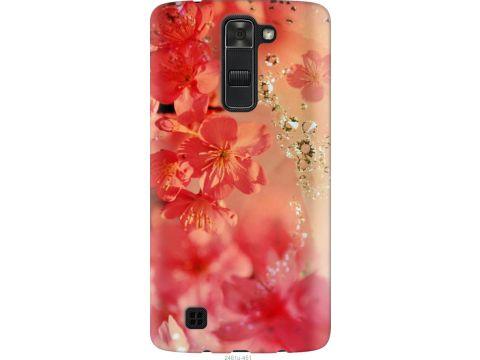 Чехол на LG K7 Розовые цветы (2461u-451-22700)