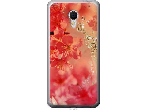 Чехол на Meizu MX6 Розовые цветы (2461u-259-22700)