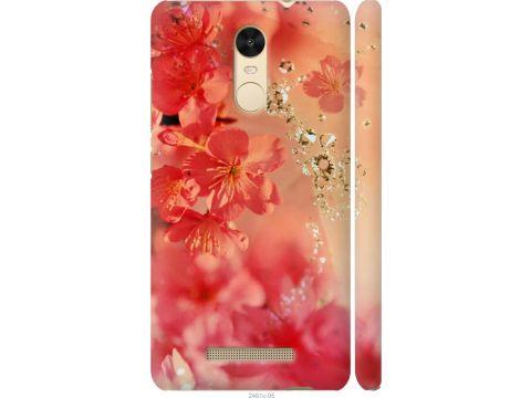 Чехол на Xiaomi Redmi Note 3 pro Розовые цветы (2461c-335-22700)