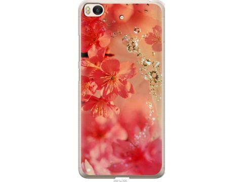 Чехол на Xiaomi Mi 5s Розовые цветы (2461u-395-22700)