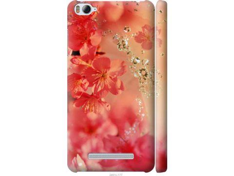 Чехол на Xiaomi Mi4c Розовые цветы (2461c-178-22700)