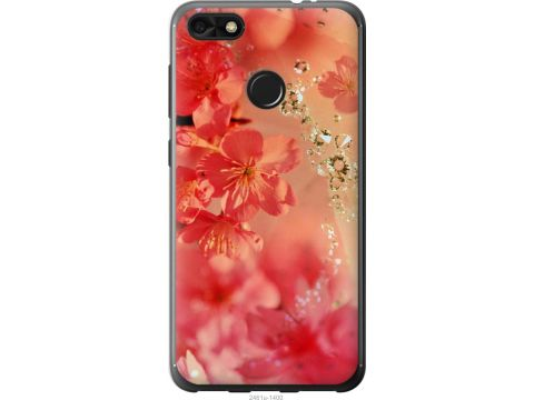 Чехол на Huawei Nova Lite 2017 Розовые цветы (2461t-1400-22700)