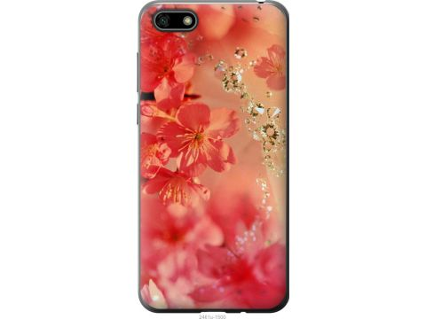 Чехол на Huawei Honor 7A Розовые цветы (2461u-1805-22700)