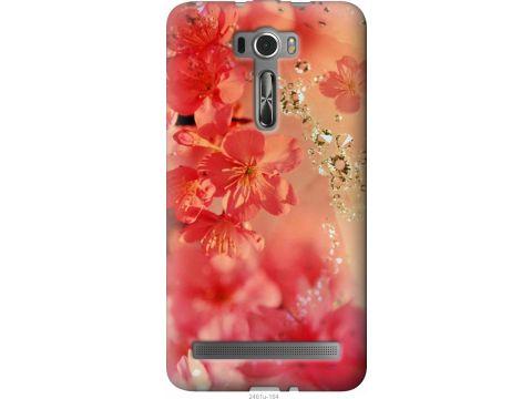 Чехол на Asus ZenFone 2 Laser ZE601KL Розовые цветы (2461u-164-22700)