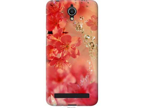 Чехол на Asus ZenFone Go ZC451TG Розовые цветы (2461u-276-22700)
