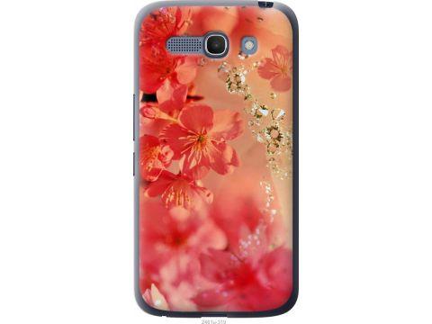 Чехол на Alcatel One Touch POP C9 Розовые цветы (2461u-319-22700)