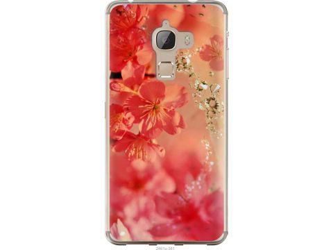 Чехол на LeTV Max X900 Розовые цветы (2461u-381-22700)
