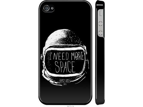 Чехол на iPhone 4s I need more space (2877m-12-22700)