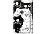 Цены на Чехол на Motorola MOTO G4 Коты...