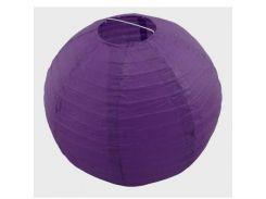 Декор подвесной Шар (35см) фиолетовый