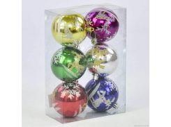 "Ёлочная игрушка ""Шары"" (6 штук) C30791"
