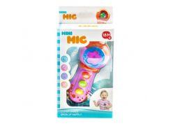 """Музыкальная игрушка """"Микрофон"""" (розовый) 9305"""