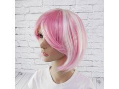 Парик Косплей Лолита (розово-белый)