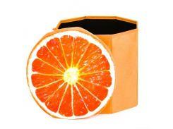"""Корзина-пуфик для игрушек """"Апельсин"""" C30190"""