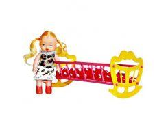 """Детская игрушка """"Кроватка с куклой"""" МГ 135"""
