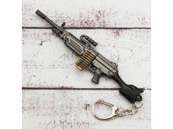 Брелок МТЛ PUBG Пулемет M249 №12