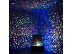 Проектор ночник Звездное Небо Кристалл