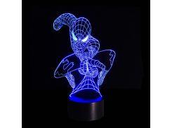 3D Светильник Спайдермен 7-1