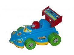 Каталка спортивная машинка синяя KW-06-604