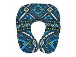 Подушка для путешествий Этно синяя UKR004