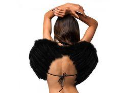 Крылья Ангела Средние 40х55см (черные)