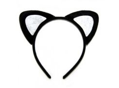 Ушки Кошка (черные)