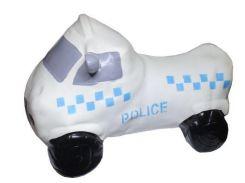 """Прыгун """"Полицейская машина"""" (белая) BT-RJ-0036"""
