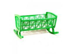 """Детская игрушка """"Кроватка"""" (зеленая) МГ 071"""