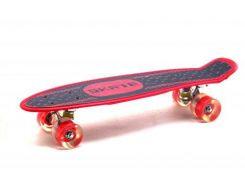 Пенни Борд 3-х цветный красный. KS02