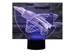 3D Светильник Самолет 15-1