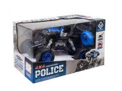 """Полицейский джип на радиоуправлении """"Jeep Wrangler Rock Climbing"""" 4 х 4 (синий) 6149J/6149M"""