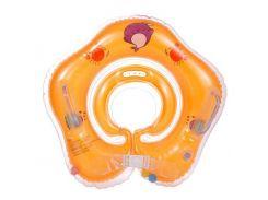 Круг для купания оранжевый 303