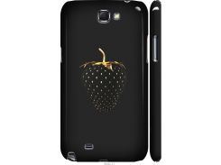 Чехол на Samsung Galaxy Note 2 N7100 Черная клубника (3585m-17-22700)