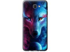 Чехол на Samsung Galaxy J5 Prime Арт-волк (3999t-465-22700)