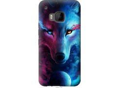 Чехол на HTC One M9 Арт-волк (3999u-129-22700)