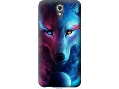 Чехол на HTC Desire 620G Арт-волк (3999u-187-22700)