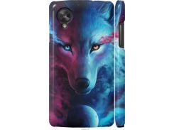 Чехол на LG Nexus 5 Арт-волк (3999c-57-22700)