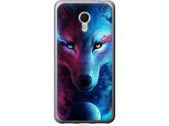 Чехол на Meizu MX6 Арт-волк (3999u-259-22700)