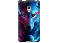 Чехол на Meizu MX2 Арт-волк (3999u-239-22700)