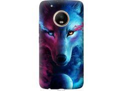 Чехол на Motorola Moto G5 PLUS Арт-волк (3999t-1038-22700)