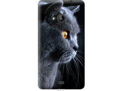 Чехол на Microsoft Lumia 535 Красивый кот (3038u-130-22700)