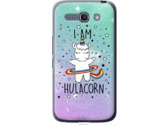 Чехол на Alcatel One Touch POP C9 I'm hulacorn (3976u-319-22700)