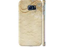 Чехол на Samsung Galaxy S6 Edge G925F Кружевной орнамент (2160m-83-22700)