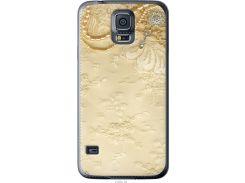 Чехол на Samsung Galaxy S5 g900h Кружевной орнамент (2160u-24-22700)