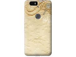 Чехол на Huawei Nexus 6P Кружевной орнамент (2160u-148-22700)