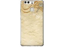 Чехол на Huawei P9 Кружевной орнамент (2160u-347-22700)