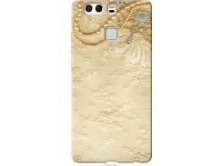 Чехол на Huawei P9 Plus Кружевной орнамент (2160u-300-22700)