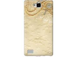 Чехол на Huawei Honor 3C Кружевной орнамент (2160u-307-22700)
